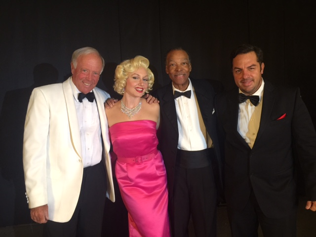 Rat Pack with Marilyn at Taping